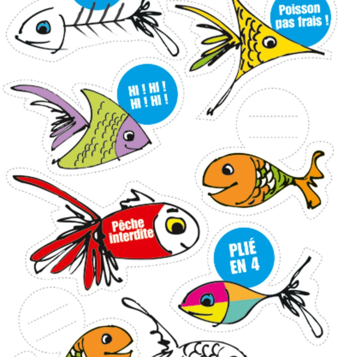 Fabriquer Une Tour A Poisson des poissons d'avril à imprimer : femme actuelle le mag