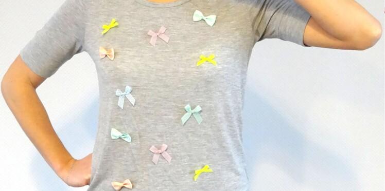 DIY mode : mon premier t-shirt customisé