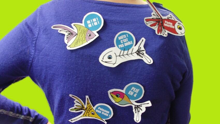 Des poissons d'avril à imprimer