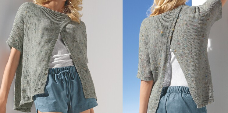 Un pull aérien au tricot
