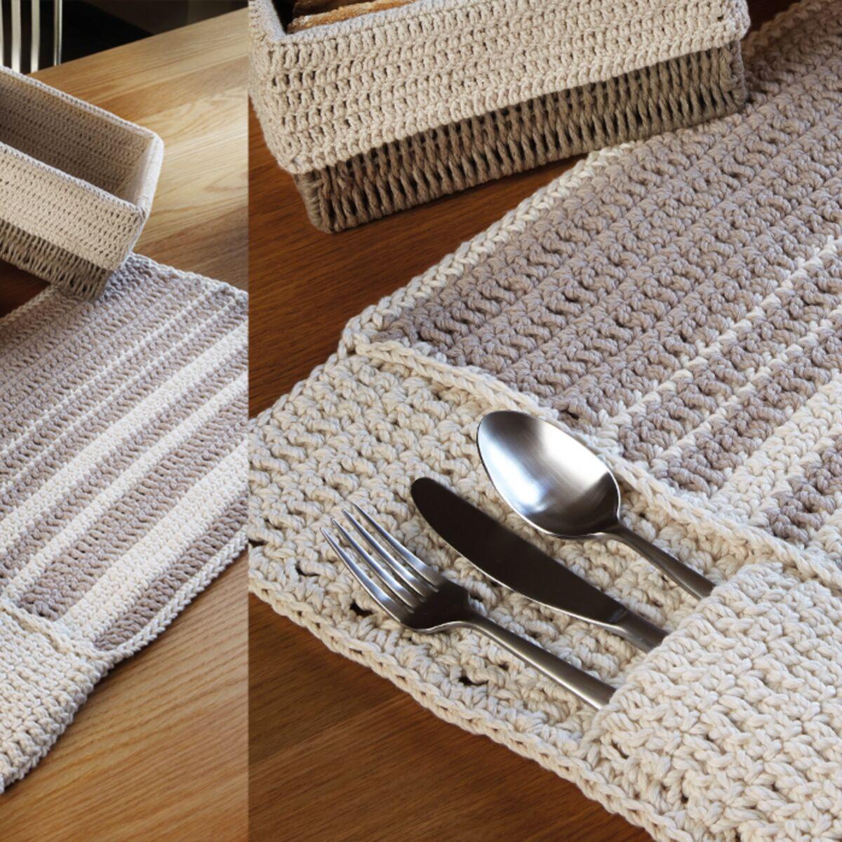Un set de table au crochet : Femme Actuelle Le MAG