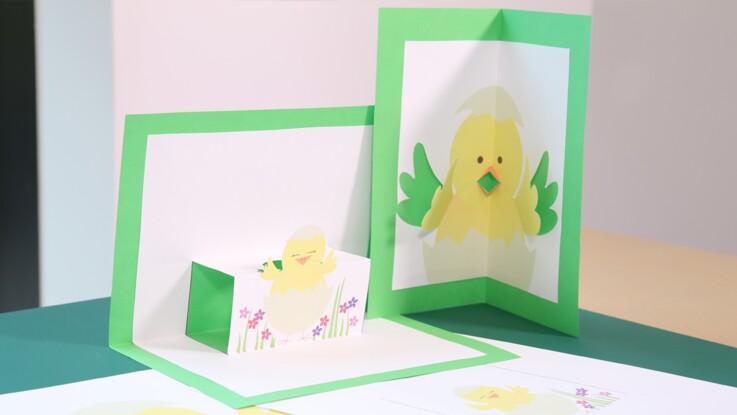 Des cartes pop-up de Pâques