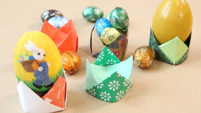 Des coquetiers origami