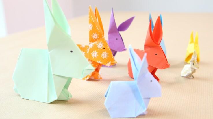 Un Lapin En Origami Femme Actuelle Le Mag