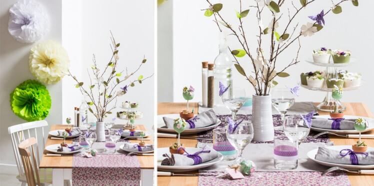 Une jolie table de Pâques
