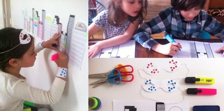 Anniversaire d'enfant : un atelier coloriage