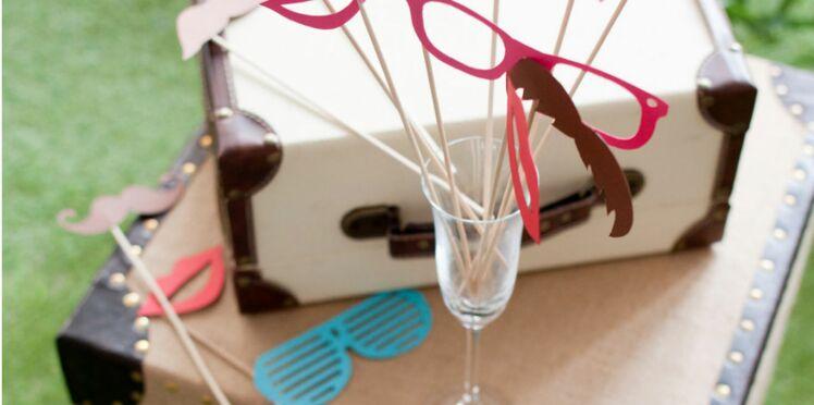 Idées mariage : un photobooth DIY