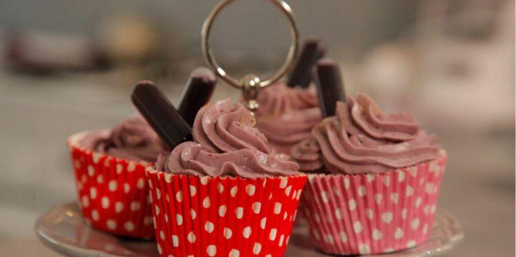 Les cupcakes de pain d'épices de Roxanne