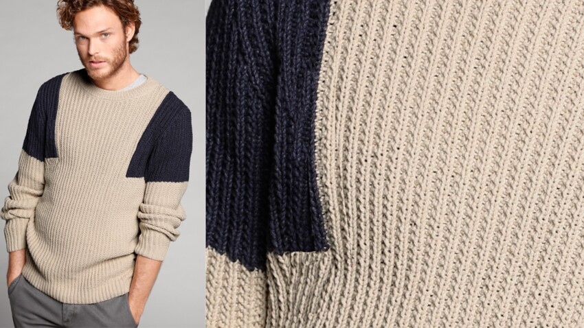 Le pull marin pour homme