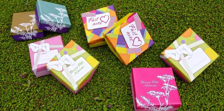 Nos boîtes cadeaux pour la fête des mères