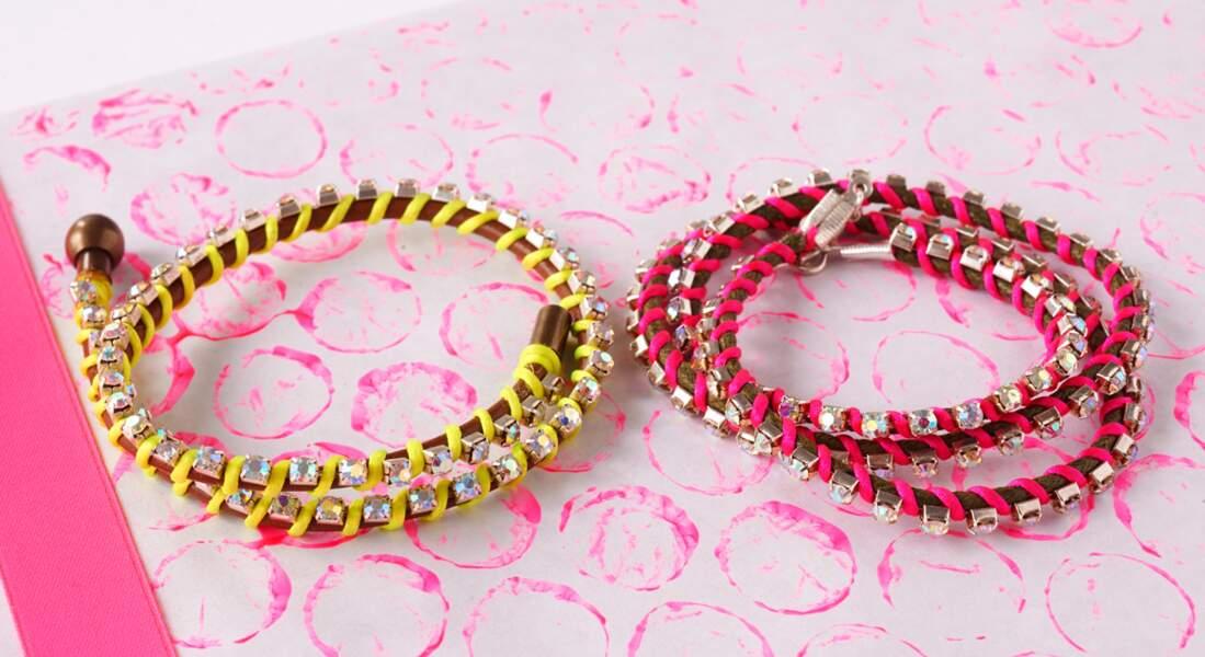 Version express du bracelet wraps