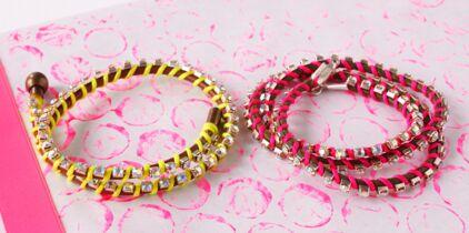 Tuto  un bracelet wraps express