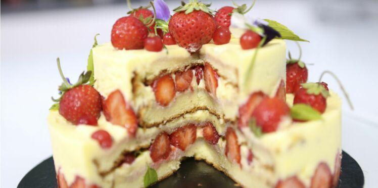 Le fraisier de Jonathan Blot