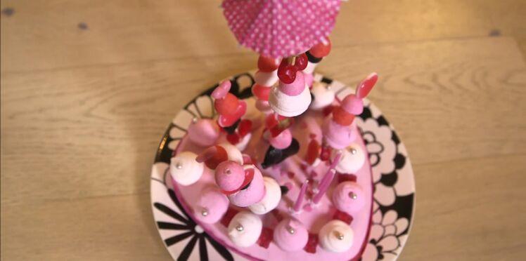 Un gâteau de bonbons