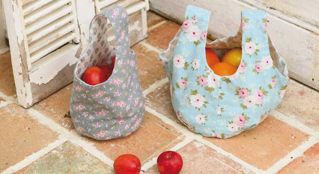 Un sac fleuri à coudre