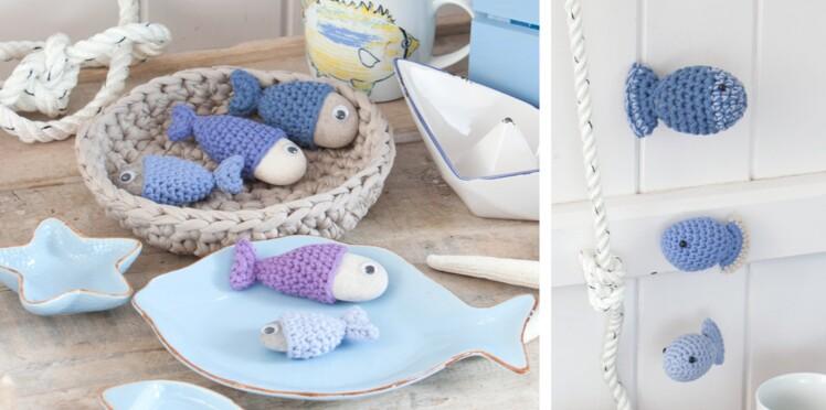 Amigurumi : des poissons au crochet