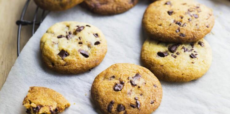Cookies au chocolat carambar
