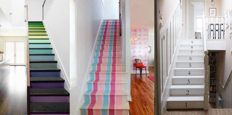 Un escalier en 3 versions