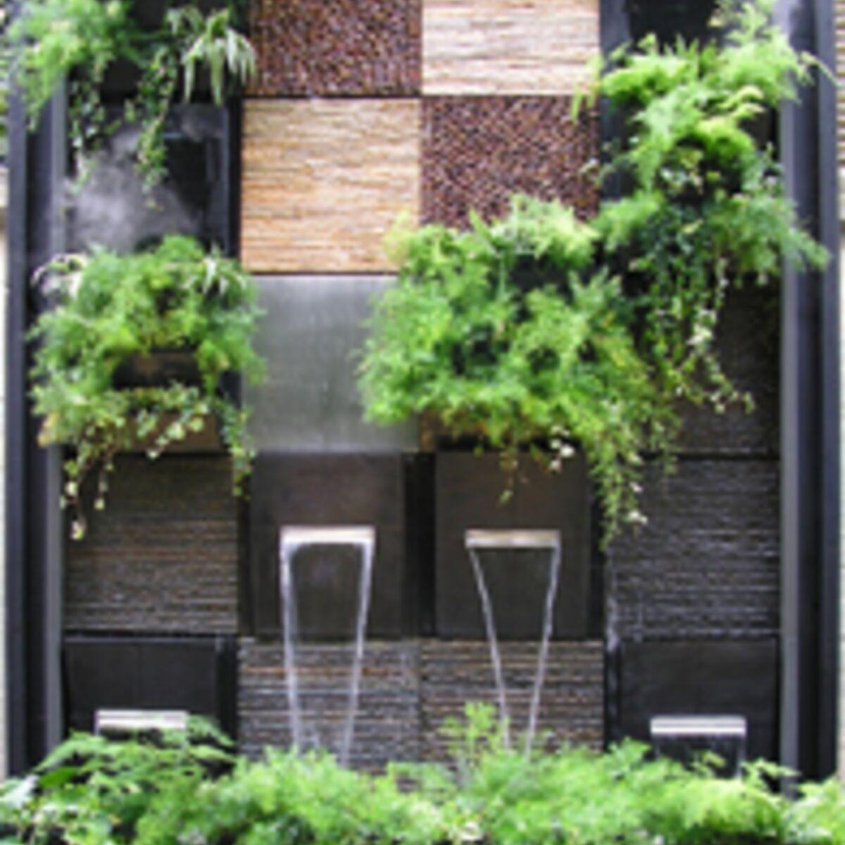 Décorer Un Mur De Jardin idée déco au jardin : comment habiller un mur ? : femme