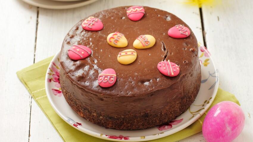Gâteau croustillant choco-noisettes