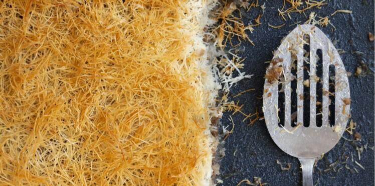 Pâtisserie orientale : Kadaïfs aux noix