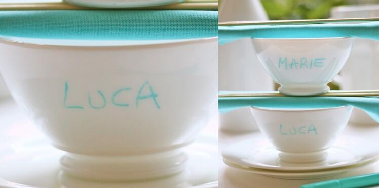 Peinture sur céramique : ma vaisselle personnalisée
