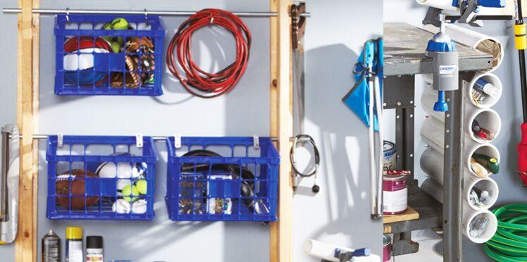 Bricolage : un rangement pratique pour toute la maison