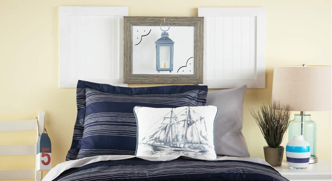 Idées de cadres pour décorer une tête de lit