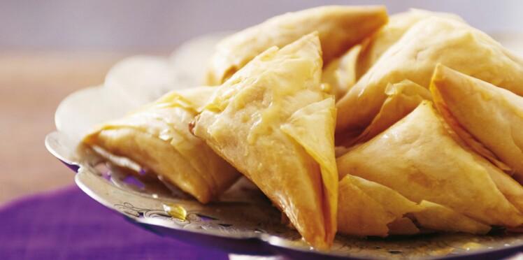 Pâtisserie orientale : Samsas au miel