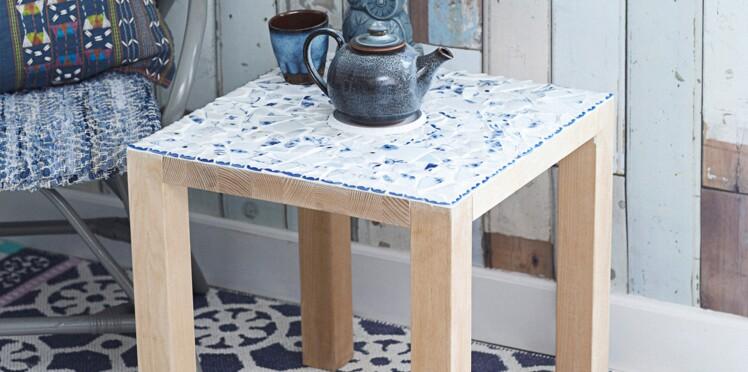 Une table mosaïque