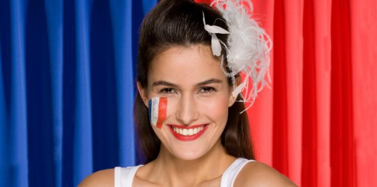 Maquillage bleu, blanc, rouge, c'est le moment d'oser !