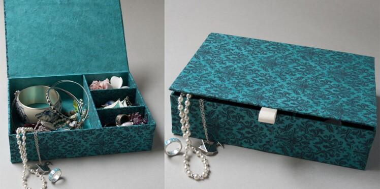 Cartonnage : une boîte en papier pour tout ranger