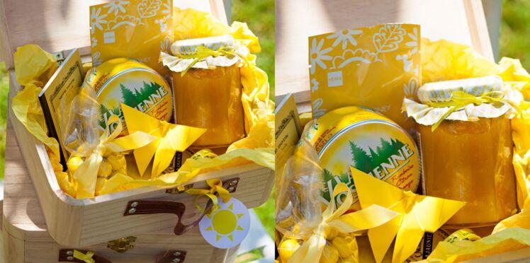 Une box couleur soleil