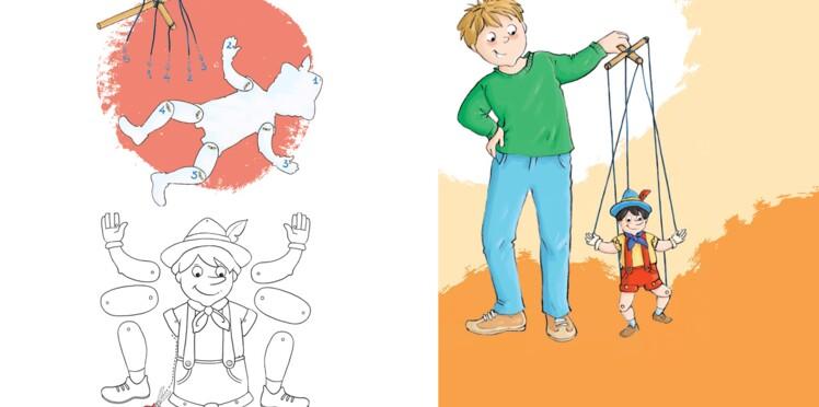 Bricolage enfants : une marionnette
