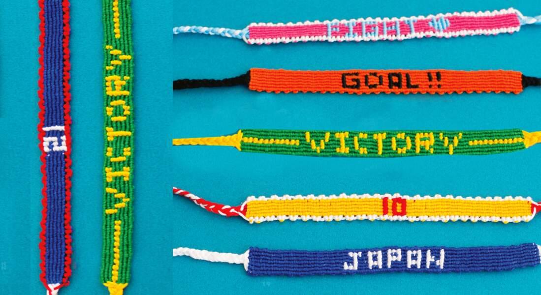 Un bracelet brésilien à message
