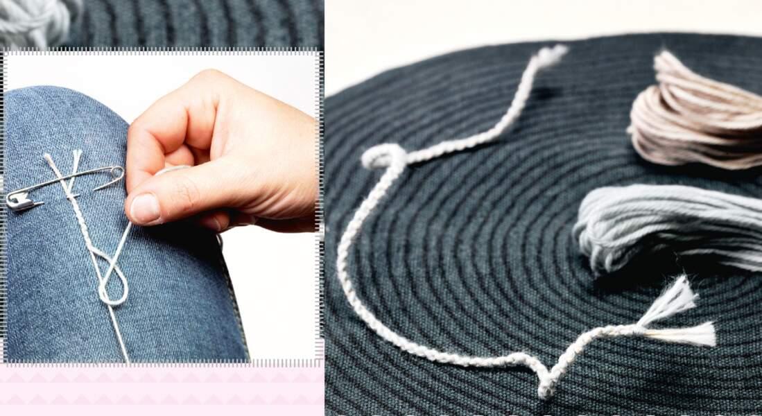 Sobre et facile, le bracelet brésilien tout simple tout fin