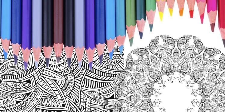 Coloriage Anti Stress Magazine.Coloriage Anti Stress Et Mandala Gratuits Pour Adulte