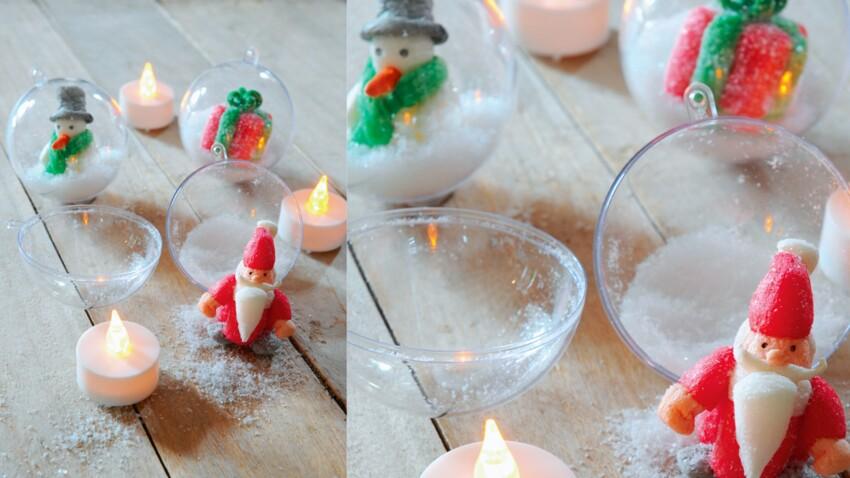 Bricolage de Noël pour enfant : un bonhomme de neige en PlayMaïs