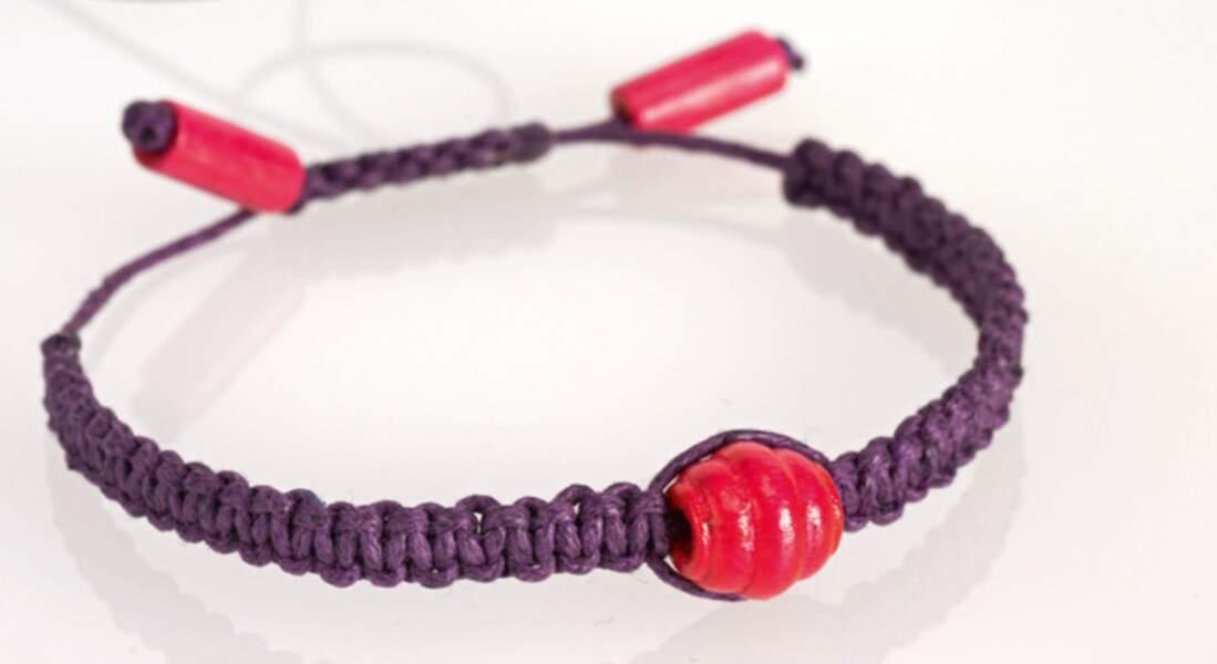 DIY : un bracelet Shamballa