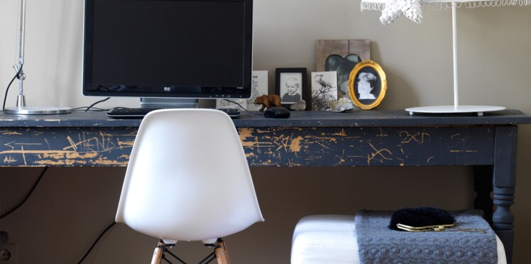 Un bureau vintage