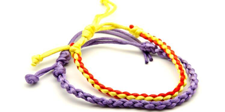 Comment faire un bracelet Kumihimo à 4 fils