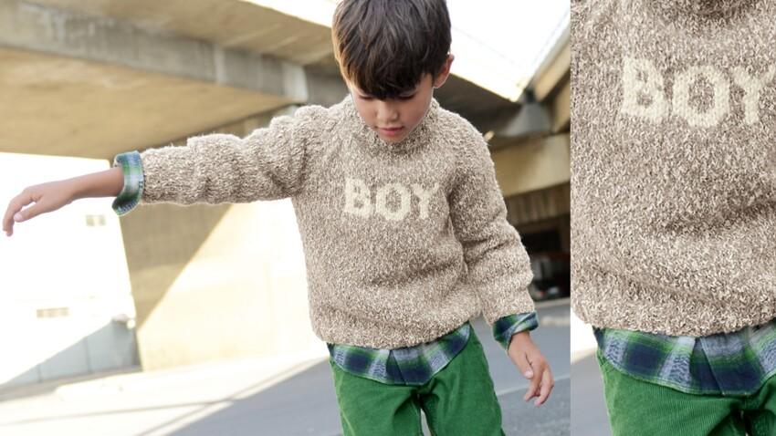 Le pull garçon Boy