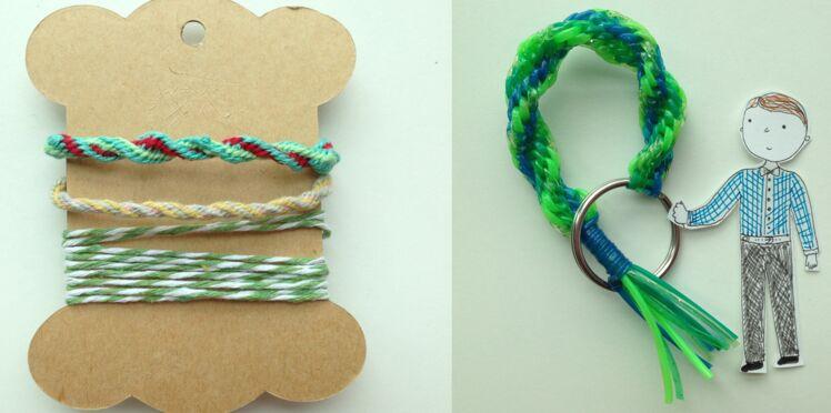 Comment faire un bracelet Kumihimo torsadé