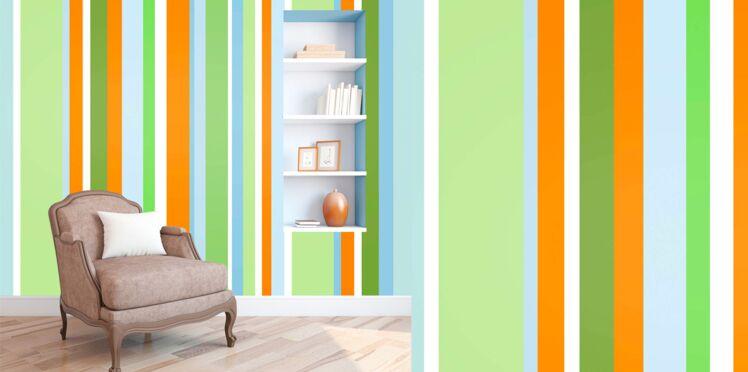 Idée peinture : une bayadère dans mon salon