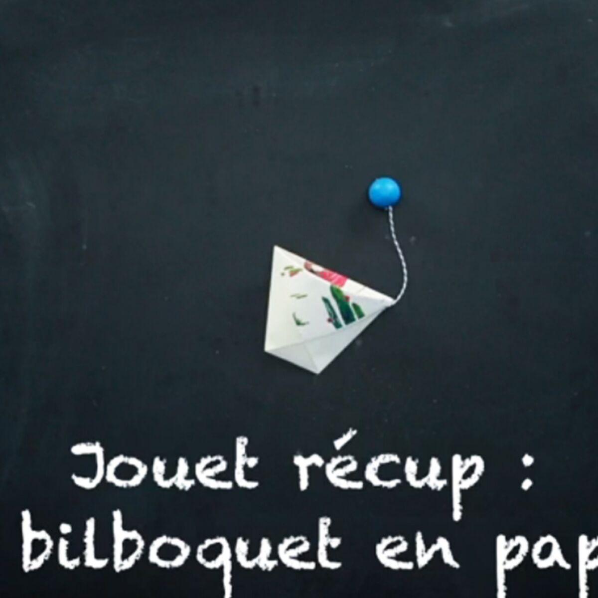 Le Bon Coin Coffre A Jouet jouet récup' : un bilboquet en papier : femme actuelle le mag