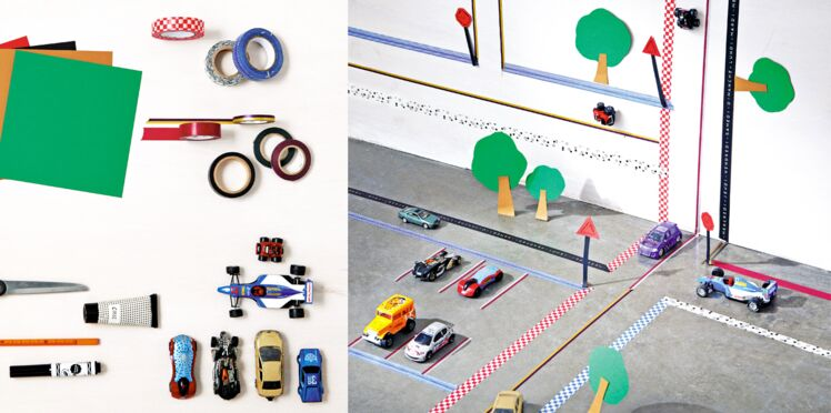 Fabriquer un circuit de voitures