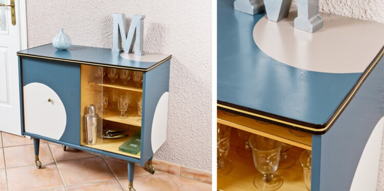 Bricolage : relooker un meuble bar