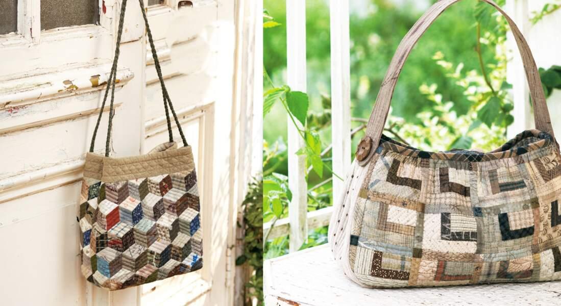 Un sac en patchwork