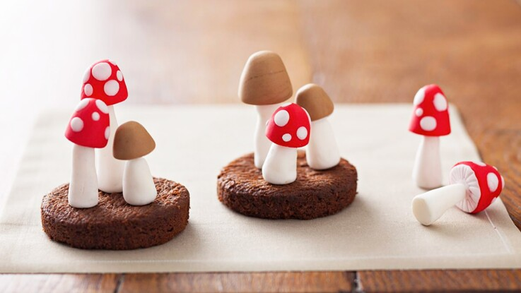 Vidéo : comment faire des champignons en pâte à sucre ?