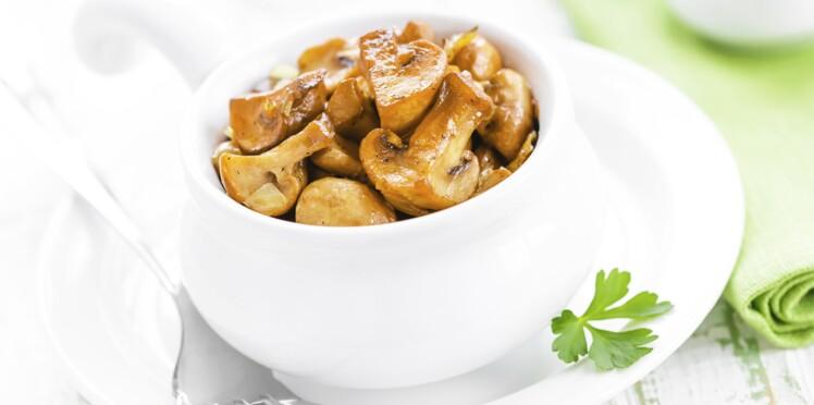 Toutes nos recettes originales avec des champignons
